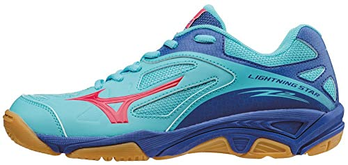 Mizuno Lightning Star Z Jnr, Zapatillas de Voleibol Unisex Niños, Azul (Capri/