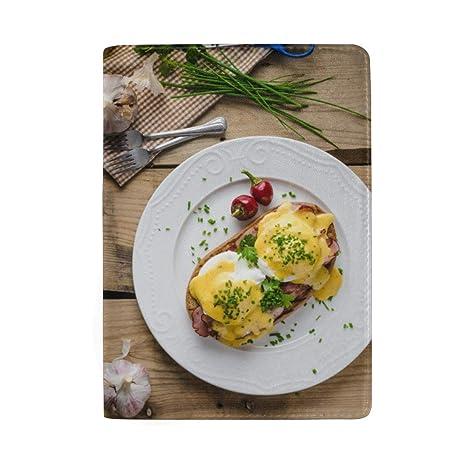 Huevos para freír Desayuno con perejil Bloqueo Estuche de la ...