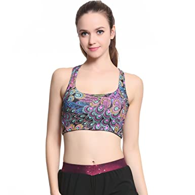 17fb1382b3 Image Unavailable. Image not available for. Colour  MU MU Women s Fashion  Sports Bra High ...