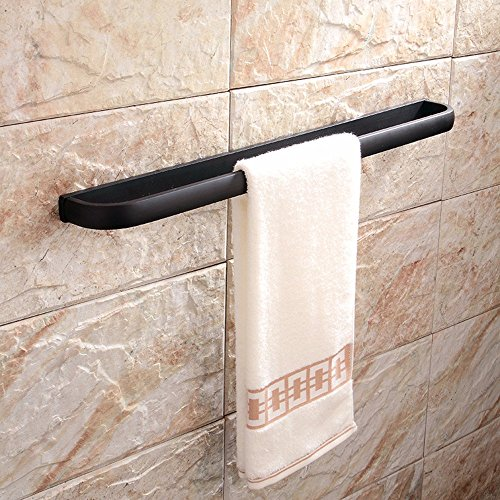 Fashionable environmental protection exquisite bathroom suction cup full copper metal bath towel holder
