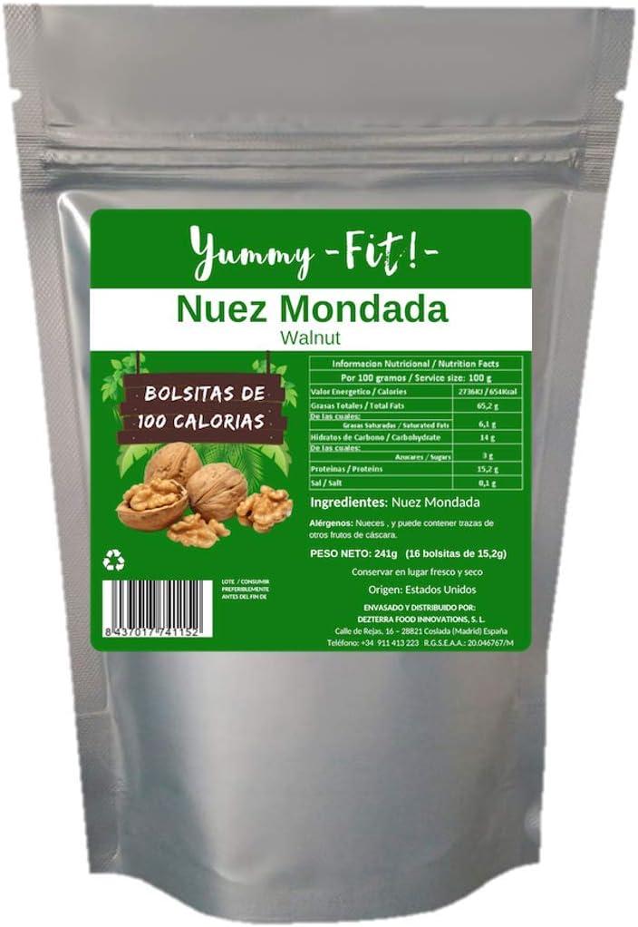 Nuez Mondada en paquetes de 100kcal Sin Sal (243 gramos): Amazon.es: Alimentación y bebidas
