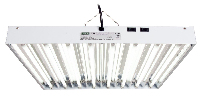 T5 EnviroGro 2Ft 8 Tube Fixture
