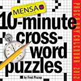 Mensa 10-Minute Crossword Puzzles 2012 Calendar by