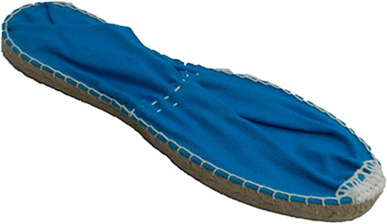 Alpargata de Esparto Plana Made in Spain en azulon