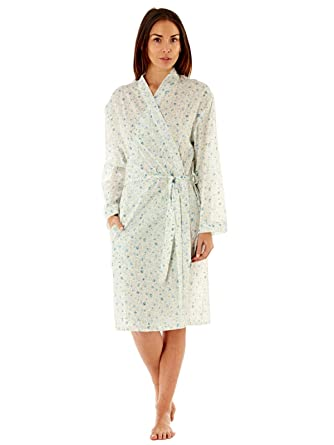 7181232c2ca7e Lady Selena Suzie Ditsy Floral Kimono Wrap Over