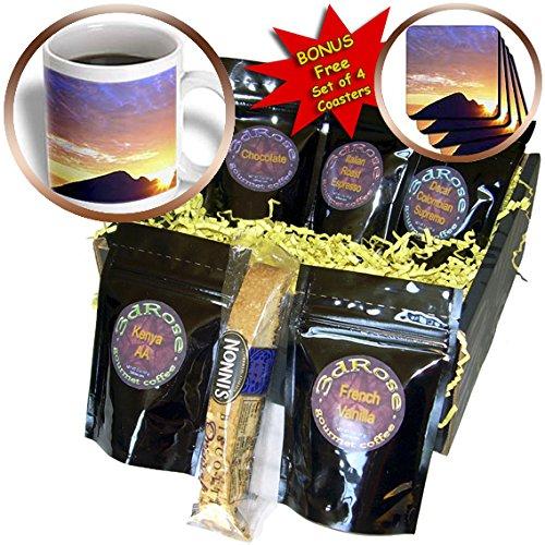 Danita Delimont - Beaches - USA, Oregon, Sunset over Gold Beach on the Oregon Coast. - Coffee Gift Baskets - Coffee Gift Basket (cgb_206157_1)