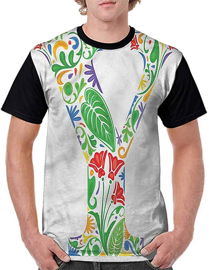 BlountDecor Teen t-Shirt,Watering Can and Flower Fashion Personality Customization
