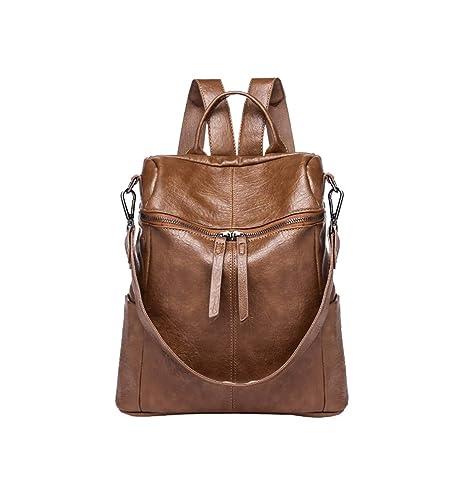 comprare popolare d781f eaf10 Layxi Donna Moda Morbido Pelle Tessuto Daypack Grande Square ...