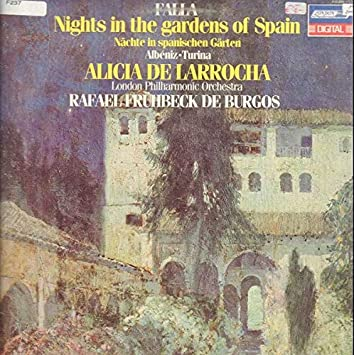 Amazon.com: Falla: Nights in the Gardens of Spain: Music