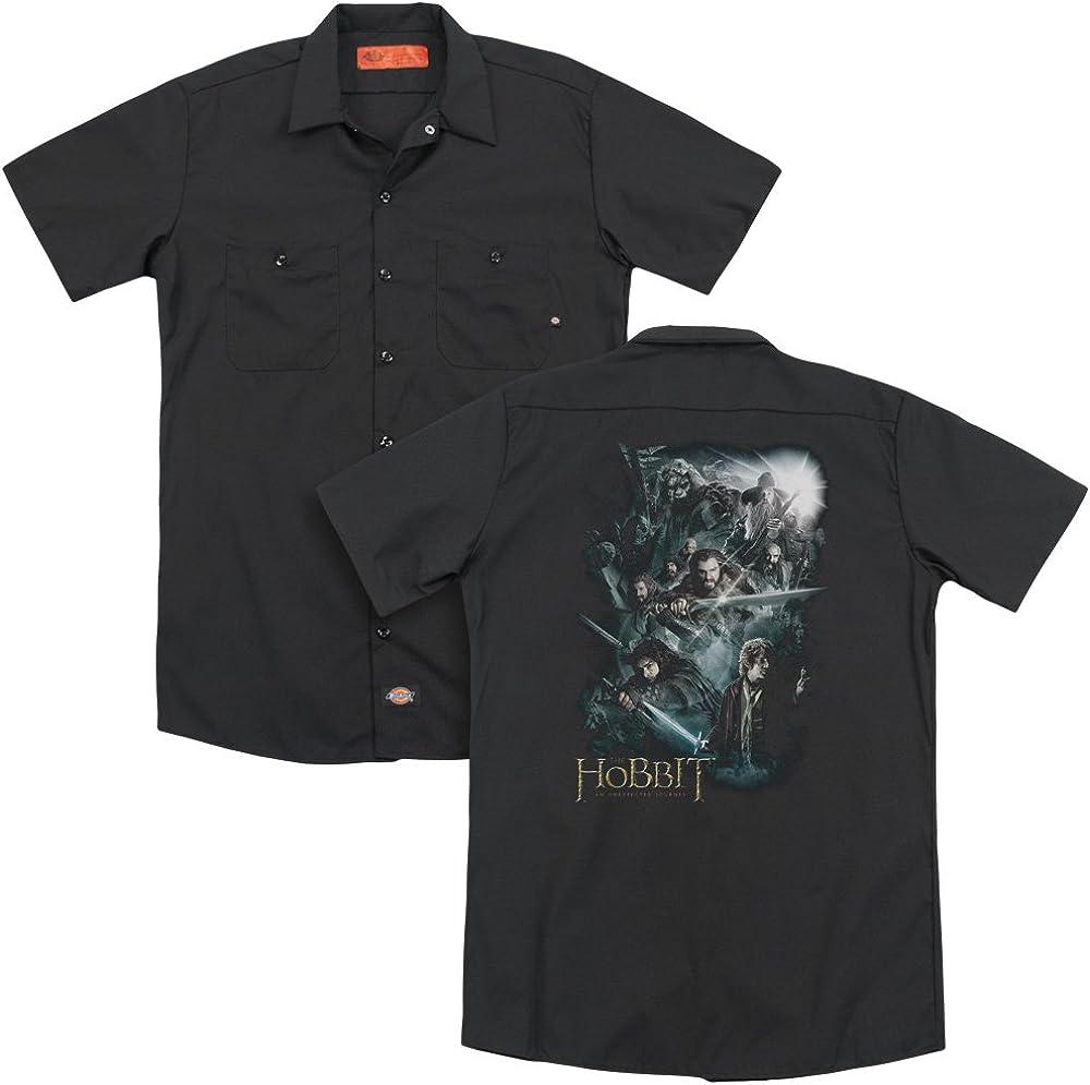 The Hobbit Epic Adventure Adult Work Shirt