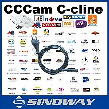 Cuenta Cline servidor CCCAM MU para la validez 1 año d14da1d73