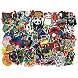 Car Stickers [104 pcs] , SHENGDELONG Laptop Stickers Waterproof Vinyl Stickers 3D Stereo Feeling Motorcycle Bicycle Luggage Decal Graffiti Patches Skateboard Stickers for Laptop -Random Sticker Pack