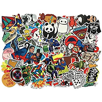 Car stickers 104 pcs shengdelong laptop stickers waterproof vinyl stickers 3d stereo feeling motorcycle bicycle luggage decal graffiti patches