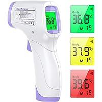 Termómetro Infrarrojos, KKmier Termometro Digital Infrarrojo sin Contacto con Pantalla LCD,Termómetro Infrarrojos médico…