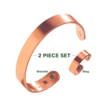 copper Copper braclets rings and thumb