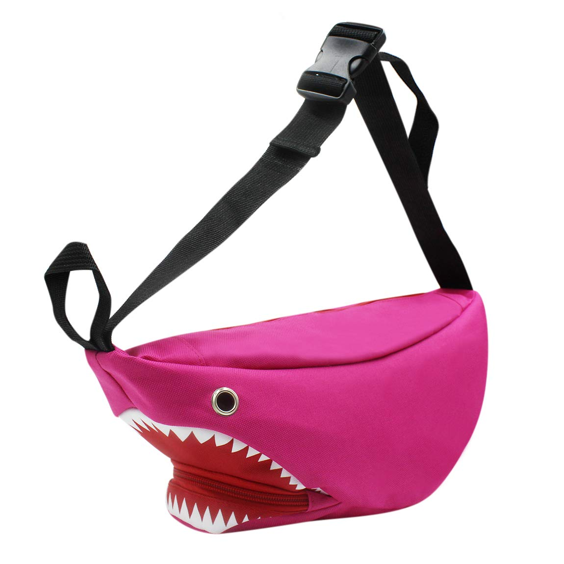 fe32d8344809 Shark Sling Bag Shoulder Chest Fanny Pack Cross Body Bag for Men & Women  (pink)