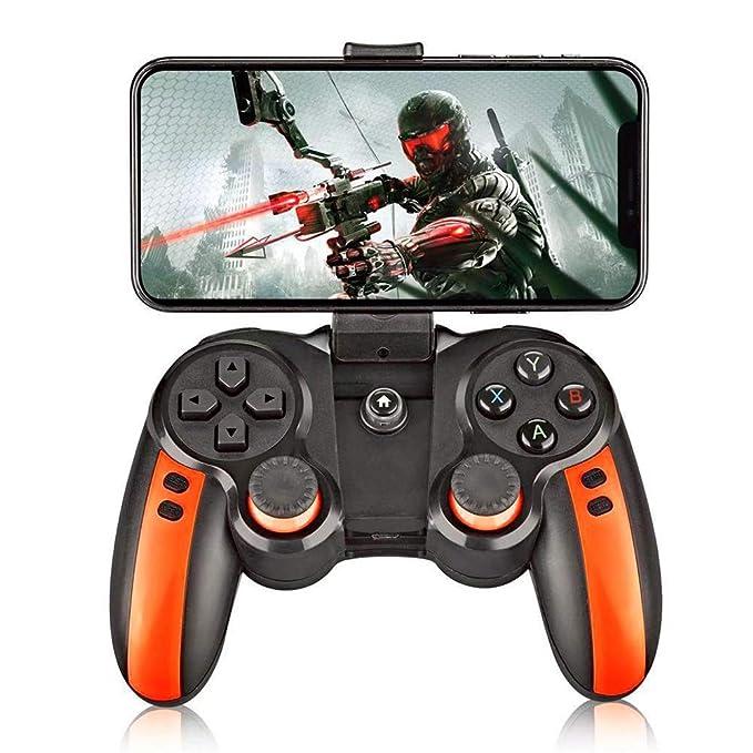DZYXSB Gamepads 2 in 1 mit Halter Smart Wireless Joystick Bluetooth X3 Gamepad Verbesserte Fernbedienung für PC Telefon Table