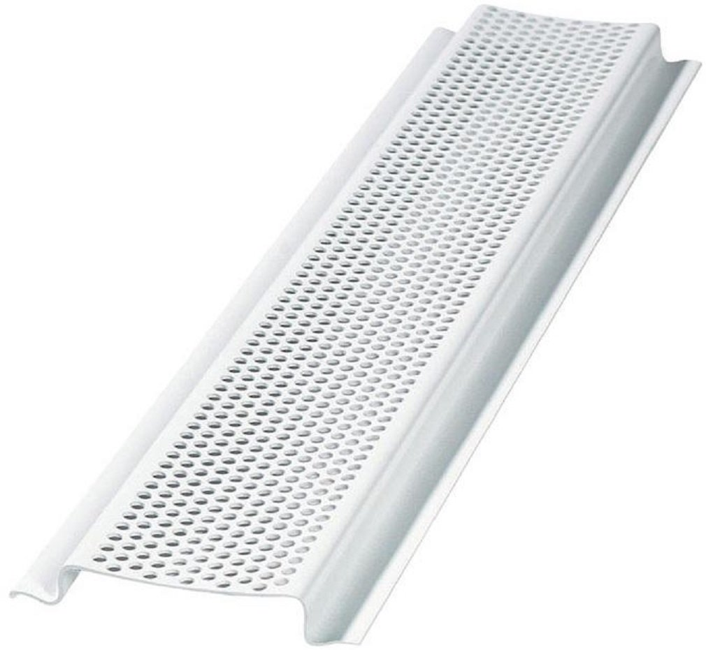 Air Vent 90320 Soffit Cover Continuous Soffit Vent, 8', White (Pack Of 50)