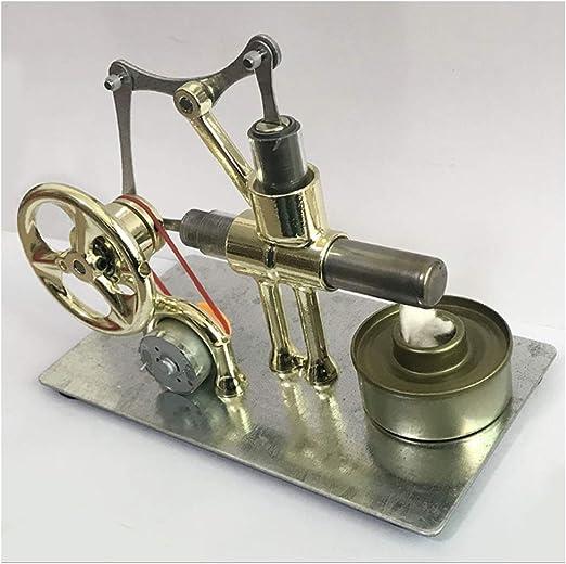 Monocilíndrico Maqueta Caliente De Aire del Motor Stirling con ...