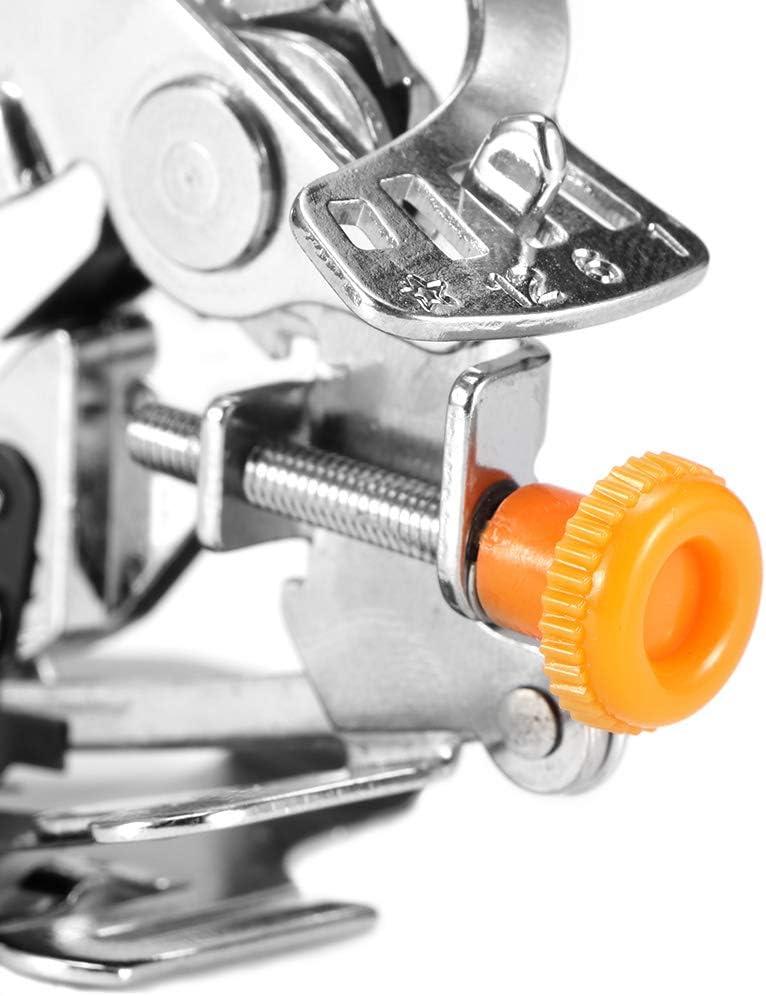 Pied-de-biche /à Jambe Basse /à Coudre de Machine /à Coudre Domestique Multifonctionnel Pliant Le Pied-de-biche Lemonmax Pied-de-biche Machine /à Coudre