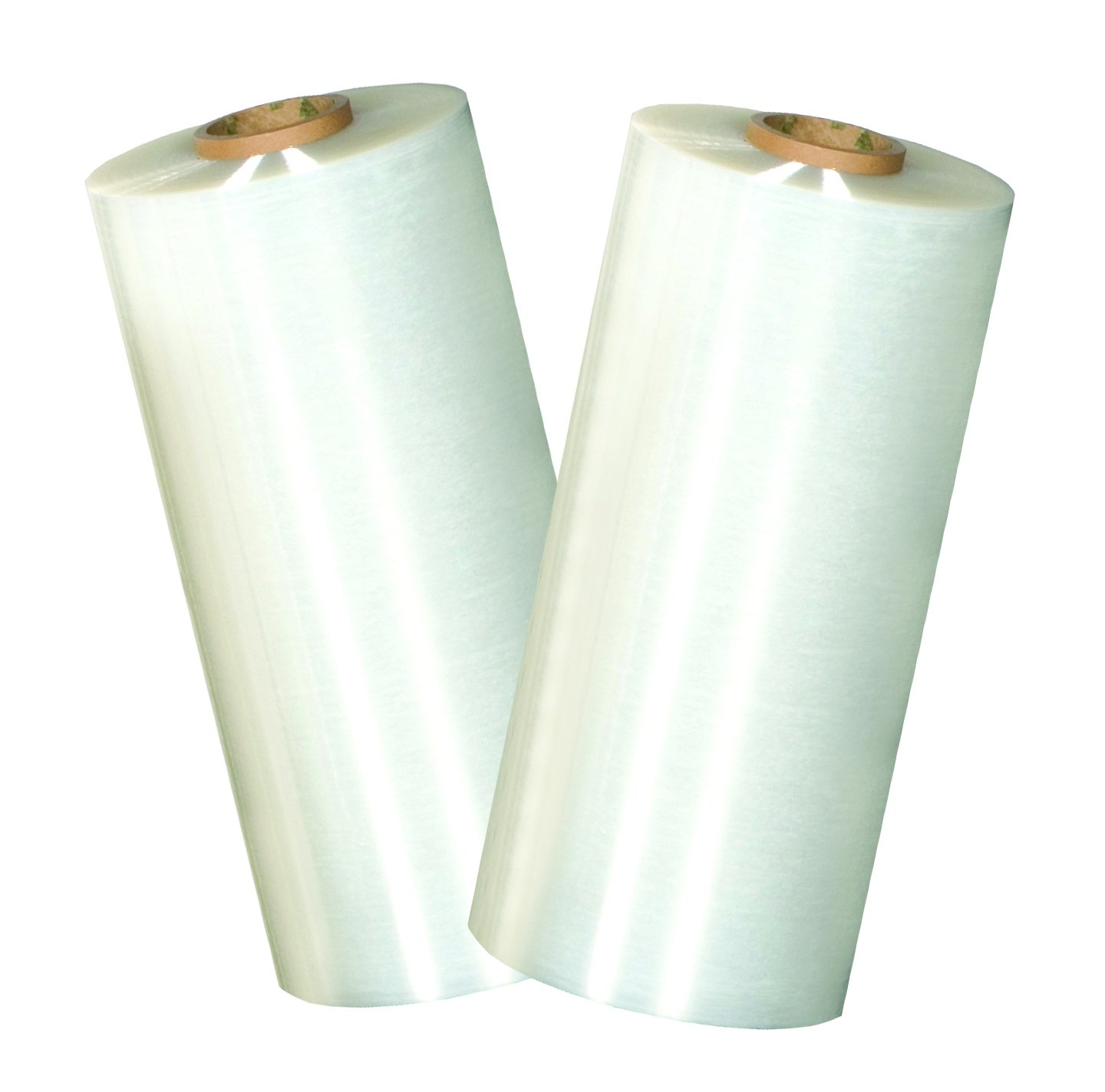 TRM 44018-80-GAUGE Stretch Film, Hand Wrap, 18'' Wide, 1500' Long, 80 Gauge (Pack of 4) by TRM Manufacturing