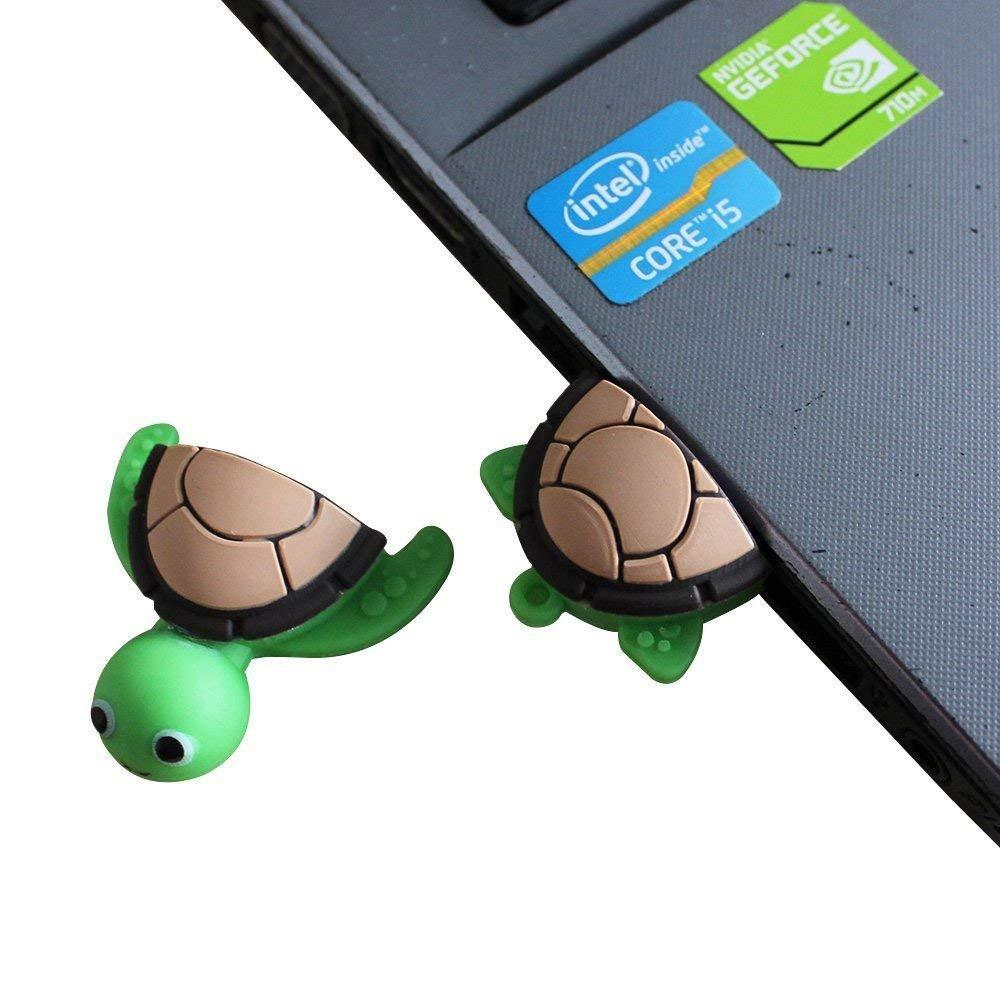 Novelty Tortoise Shape Design 16GB USB 2.0 Flash Drive Cute Memory Stick Sea Turtle Thumb Drive Data Storage Pendrive Cartoon Jump Drive Gift (tortoise-16GB) by QICAIHU (Image #6)