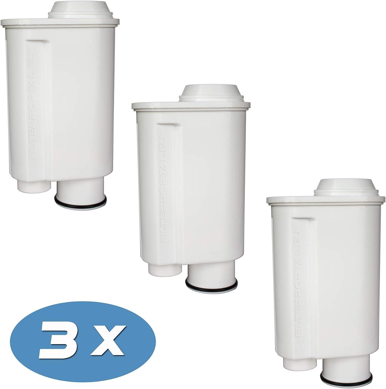 3-Pack Cartucho de Filtro Compatible para la cafetera automática ...
