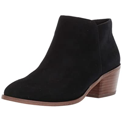 Essentials Women's Microsuede Ankle Boot: Clothing