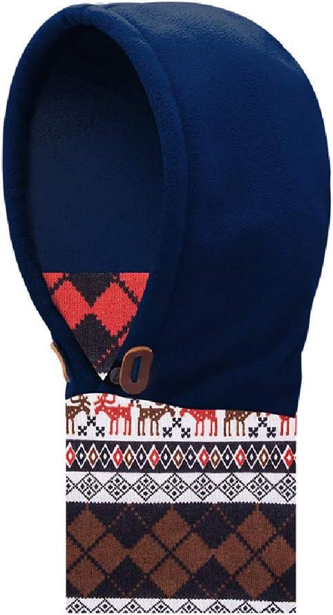 Azarxis Cagoule Polaire Enfants Cagoule Ski Cache Cou Cache Nez Chapeau Multifonction Masque Chaud Coupe-Vent Hiver pour Gar/çon Fille