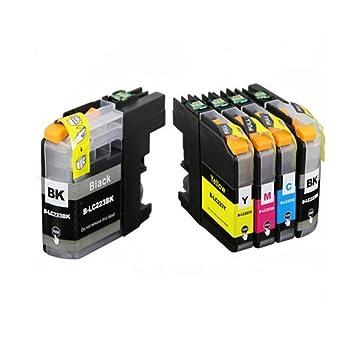 Win tinten Cartucho de tinta reemplazo para Brother LC223,Compatible conBrother DCP-J562DW DCP-J4120DW MFC-J480DW MFC-J4420DW MFC-J5320DW (2 Negro, 1 ...