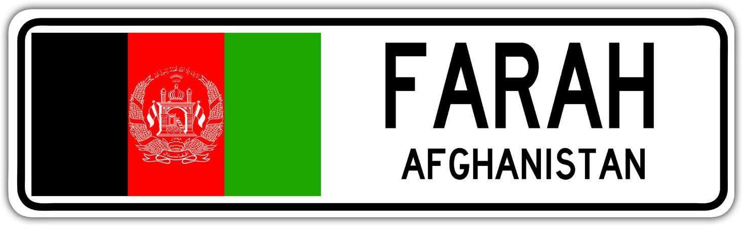 TammieLove Washington DC Panneau de Rue am/éricain Drapeau de la Ville Pays Route Cadeau de Rue 4 x 16 Pouces