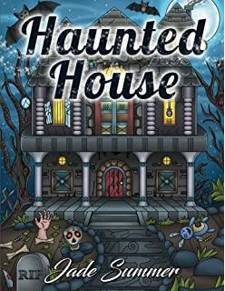 Haunted House An Adult Coloring Book With Gothic Room Designs Halloween Fantasy Creatures