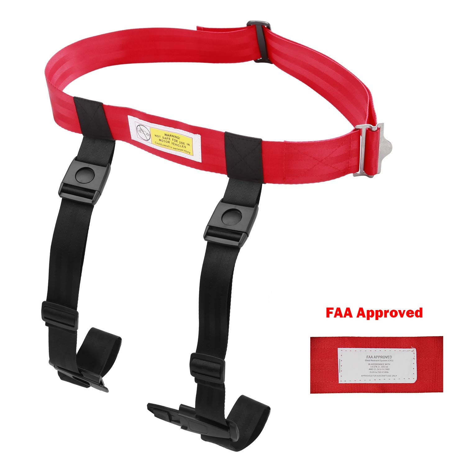 BetterJonny Child Airplane Safety Harness, Kids Airplane Travel Harness Cares Safety Restraint System Baby Travel Safety Protection