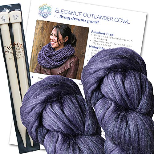 Super Chunky Outlander Cowl Knit Kit