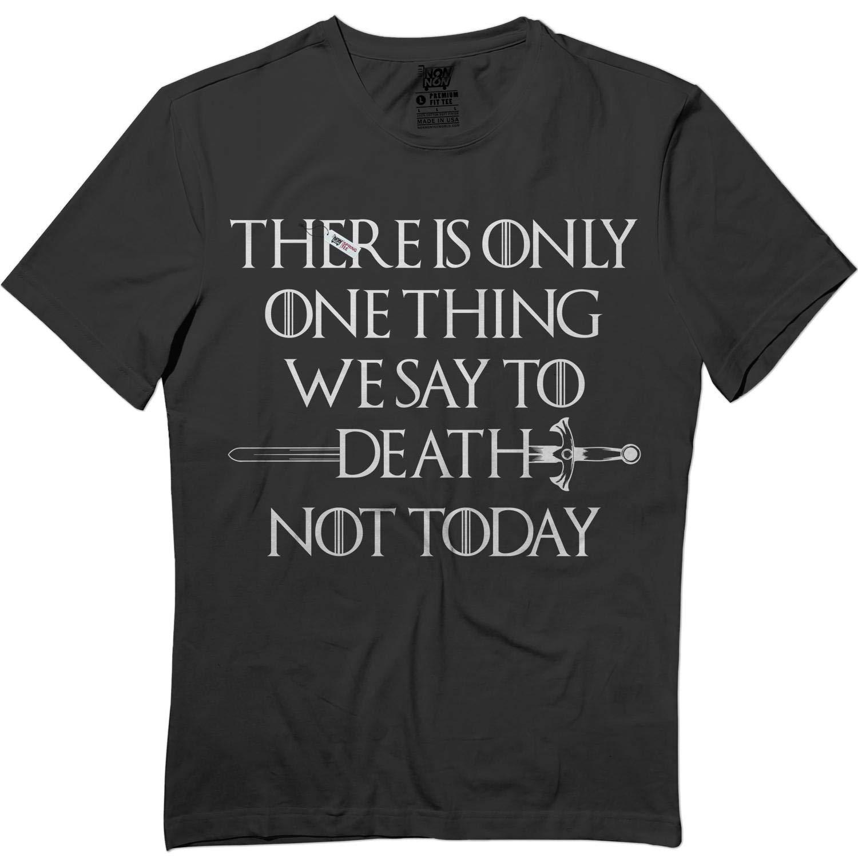 Not Today Quote Text Syrio Arya Night King Slayer Tshirt 2929