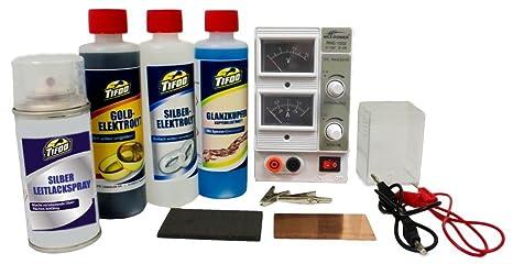 Impianto per la galvanica a bagno / per la galvanizzazione - Set di ...