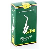 Vandoren SR261 - Caja de 10 cañas java n.1 para saxofón alto