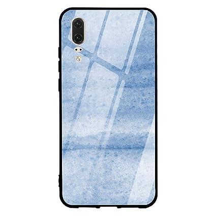 Amazon.com: Carcasa de cristal templado para Huawei Mate 20 ...