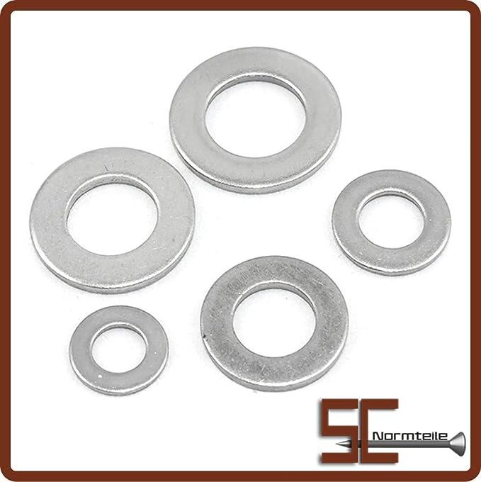 V2A Standard 2 St/ück - SC125 SC-Normteile Edelstahl A2 - M20 - - Beilagscheiben Unterlegscheiben DIN 125 Form A