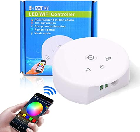 Amazon.com: Sanwo Kit de tira de luces LED WiFi, mando a ...