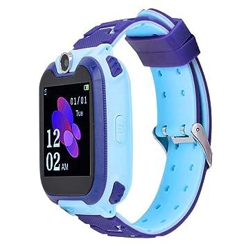 Smartwatch para niños, Reloj Inteligente a Prueba de Agua con Pantalla táctil de 1,54 Pulgadas, cámara, función de podómetro, posicionamiento de LBS, ...