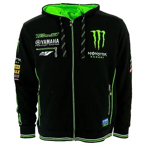 online store 4220c 57139 Tech 3 Yamaha Monster Moto GP Racing Team Felpa con Cappuccio Ufficiale 2017