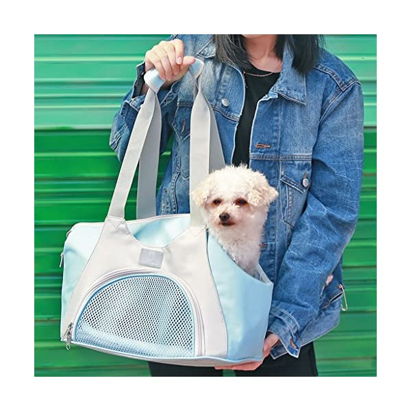 YD Pet Travel Carrier Cat Bag Dog Bag Dog Backpack Cat Cage Pet Outing Package Outgoing Portable Dog Bag Outdoor Pet… Click on image for further info. 6