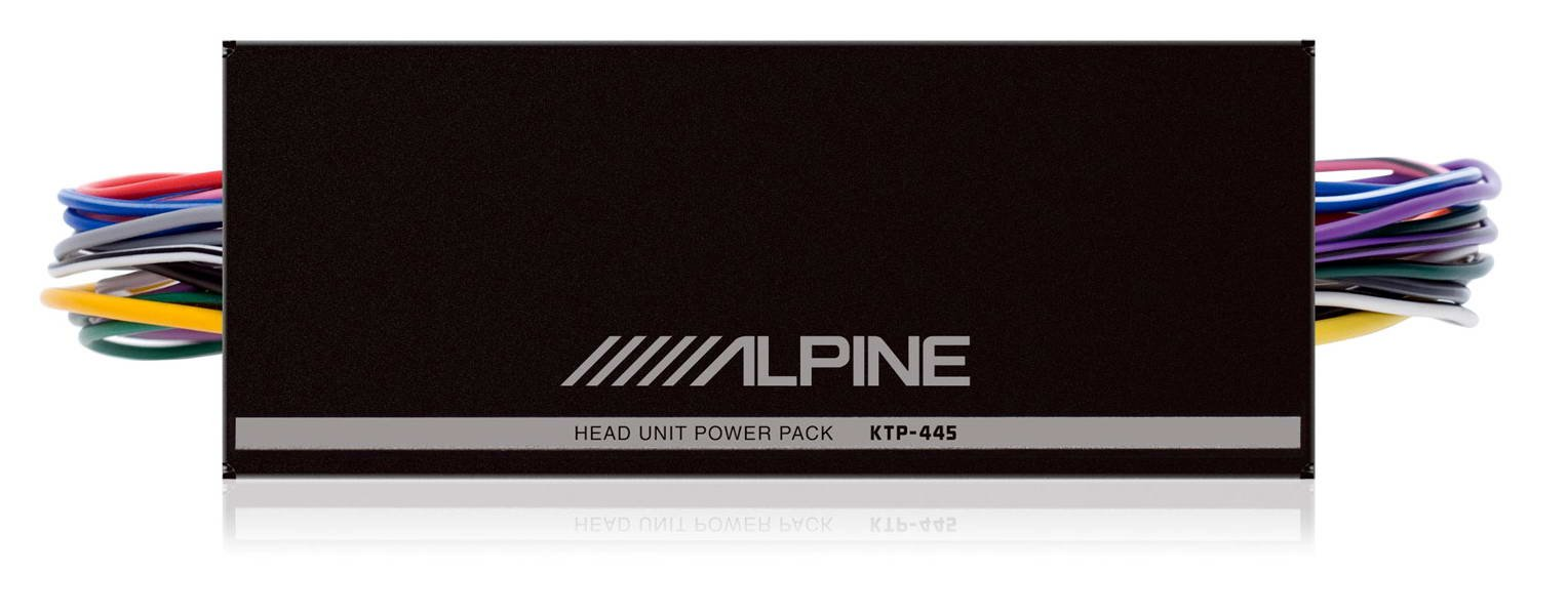 Alpine KTP-445U 4-channel Power Pack Amplifier product image