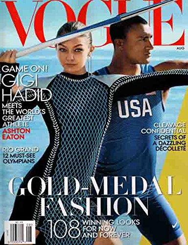 Vogue Magazine (August, 2016) Gigi Hadid - Vogue Gigi Hadid