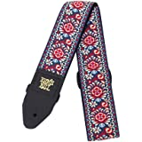 Ernie Ball P04091 Royal Bloom Jacquard Guitar Strap, 182 cm