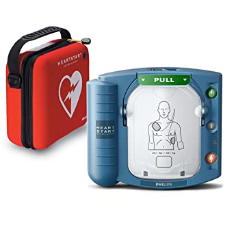 Philips HeartStart OnSite AED Defibrillator with Slim Carry Case