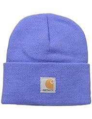 Carhartt Big Boys\' Acrylic Watch Hat, Amparo Blue, Youth