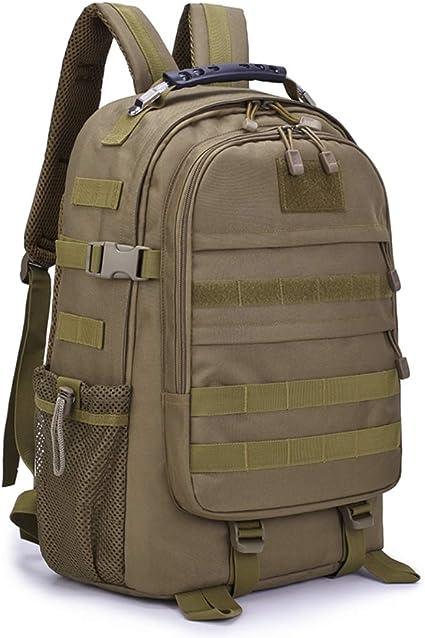 campeggio Tattico militare Escursionismo Zaino 25L Sacchetto impermeabile esterno militare per trekking Arrampicata Ciclismo Caccia-Marrone