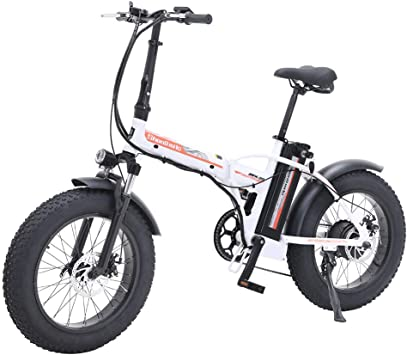Shengmilo Bicicleta de montaña eléctrica 500W*48V*15Ah 20Inch ...